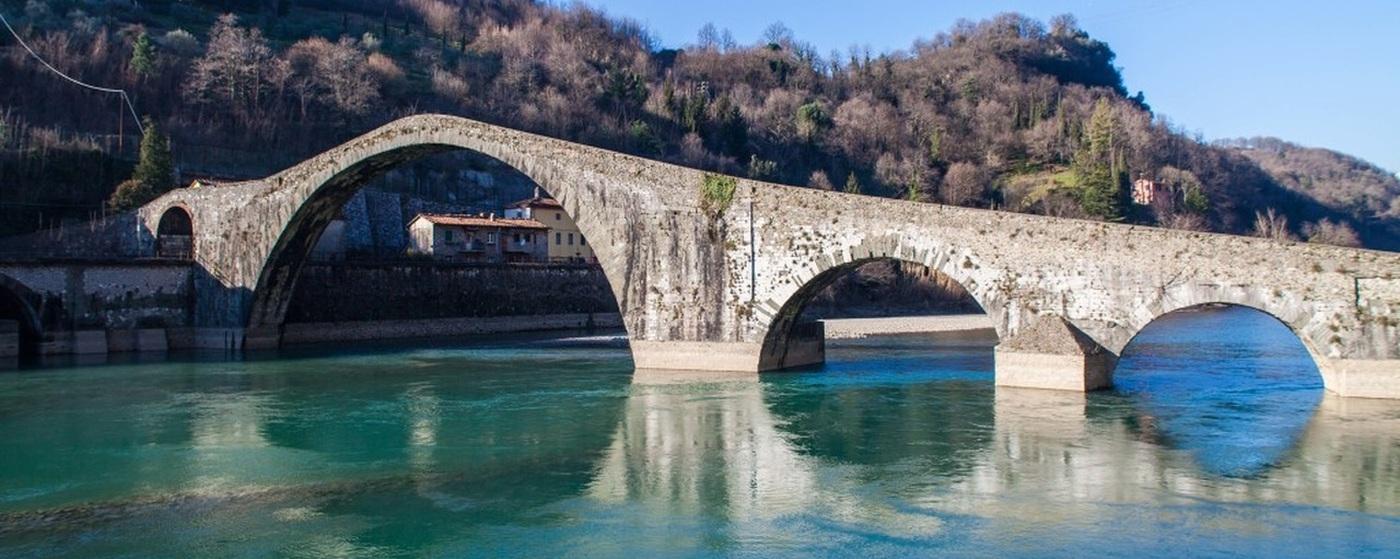 Tappa N.10 : da Barga a Borgo a Mozzano (18.0 KM)