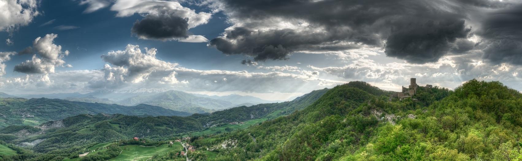 Tappa N.5 : da Canossa a Carpineti (27.6 KM)